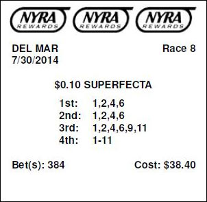 Superfecta Betting